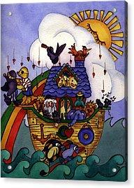 Noah's Ark Acrylic Print by Patricia Halstead