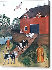 Noah's Ark Two Acrylic Print by Linda Mears