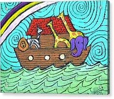 Noahs Ark Two Acrylic Print by Wayne Potrafka