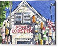 Noank Landmark Acrylic Print by Marsha Elliott