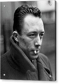 Nobel Prize Winning Writer Albert Camus Unknown Date #1 -2015 Acrylic Print