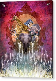 Noble Creatures Acrylic Print