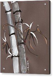Noble Snow Spirit Like Bamboo Acrylic Print