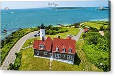 Nobska Light House  Acrylic Print