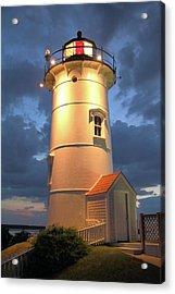 Nobska Point Lighthouse Acrylic Print by Roupen  Baker
