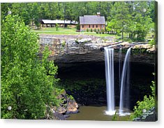 Noccolula Falls Gadsden Alabama Acrylic Print by Kathy Clark
