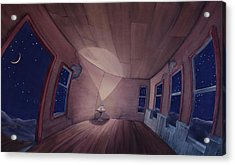 Nocturnal Interior Acrylic Print