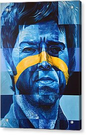 Noel Gallagher Acrylic Print by Steve Hunter