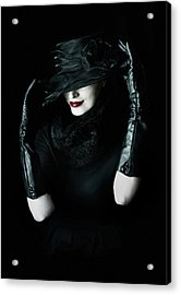Noir Acrylic Print by Cambion Art