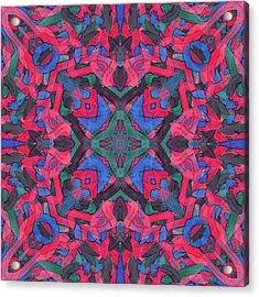 Noise Soup -pattern- Acrylic Print