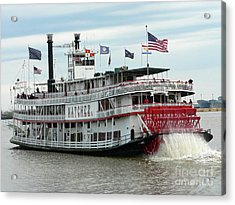 Nola Natchez Riverboat Acrylic Print
