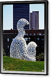 Nomade In Des Moines Acrylic Print