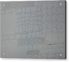 Non-objective Design 101 Acrylic Print by B L Qualls