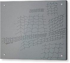 Non-objective Design 107 Acrylic Print by B L Qualls