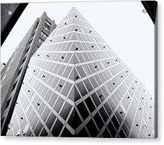 Acrylic Print featuring the photograph Non-pyramidal by Wayne Sherriff