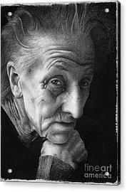 Nonna Acrylic Print by David Vanderpool