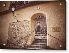 Acrylic Print featuring the photograph Nonnberg Abbey In Salzburg Austria  by Carol Japp