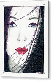 Nonya Acrylic Print by Julian  B