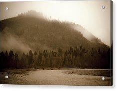 Noosack Fog Acrylic Print