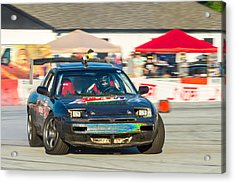 Acrylic Print featuring the photograph Nopi Drift 1 by Michael Sussman