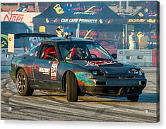 Acrylic Print featuring the photograph Nopi Drift 2 by Michael Sussman