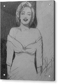 Norma Jean Acrylic Print