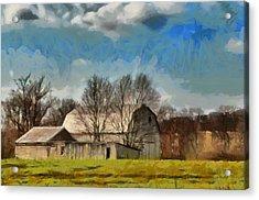 Norman's Homestead Acrylic Print by Trish Tritz