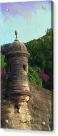 Norma's Pr Tower Acrylic Print