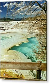 Norris Hot Spring Acrylic Print