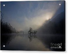 Norris Lake April 2015 Acrylic Print
