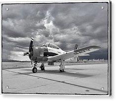 North American T-28 Acrylic Print