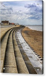 North Beach Heacham Norfolk Acrylic Print