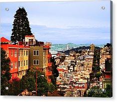 North Beach, San Francisco Acrylic Print