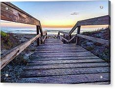 North Beach Sunrise Acrylic Print