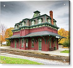 North Bennington Station Acrylic Print