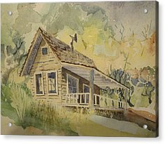 Acrylic Print featuring the painting North Bloomfield by Steven Holder