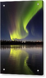 North Bound Acrylic Print by Ed Boudreau
