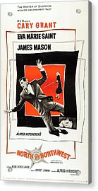 North By Northwest 1959 Acrylic Print by Mountain Dreams