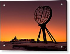 North Cape Norway At The Northernmost Point Of Europe Acrylic Print by Ulrich Schade