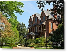 North Carolina Executive Mansion Acrylic Print