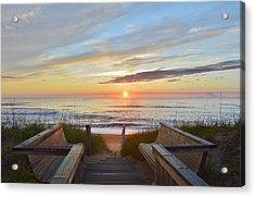 North Carolina Sunrise Acrylic Print