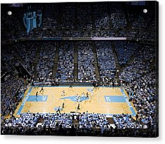North Carolina Tar Heels Dean E. Smith Center Acrylic Print