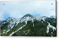 North Cascades Highway Spring View Landscape Photography By Omas Acrylic Print by Omaste Witkowski