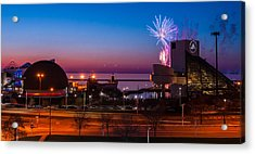 North Coast Harbor Acrylic Print
