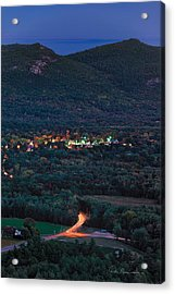 North Conway Dusk 6888 Acrylic Print