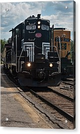 Conway Scenic Railroad - New Hampshire Acrylic Print by Suzanne Gaff