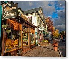 North Conway Village 3 Acrylic Print
