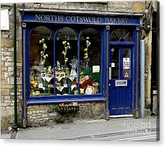 North Cotswold Bakery Acrylic Print