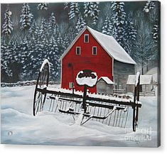 North Country Winter Acrylic Print
