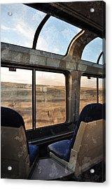 North Dakota Great Plains Observation Deck Acrylic Print by Kyle Hanson
